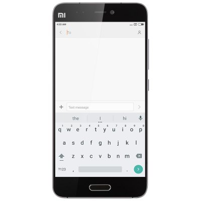 XiaoMi Mi5 32GB 4G SmartphoneCell Phones<br>XiaoMi Mi5 32GB 4G Smartphone<br><br>Brand: XiaoMi<br>Type: 4G Smartphone<br>OS: MIUI 7<br>Service Provide: Unlocked<br>Language: Indonesian, Malay, German, English, Spanish, French, Italian, Lithuanian, Hungarian, Polish, Romanian, Slovak, Vietnamese, Turkish,  Czech, Macedonian, Russian, Ukrainian, Hindi, Marathi, Bengli, Assa<br>SIM Card Slot: Dual SIM,Dual Standby<br>SIM Card Type: Dual Nano SIM<br>CPU: Qualcomm Snapdragon 820<br>Cores: 1.8GHz,Quad Core<br>GPU: Adreno 530<br>RAM: 3GB RAM<br>ROM: 32GB<br>External Memory: Not Supported<br>Wireless Connectivity: 3G,4G,A-GPS,GPS,GSM,NFC,WiFi<br>WIFI: 802.11a/b/g/n/ac wireless internet<br>Network type: FDD-LTE+WCDMA+GSM<br>2G: GSM 850/900/1800/1900MHz<br>3G: WCDMA 850/900/1900/2100MHz<br>4G: FDD-LTE 1800/2100/2600MHz<br>Screen type: Capacitive<br>Screen size: 5.15 inch<br>Screen resolution: 1920 x 1080 (FHD)<br>Pixels Per Inch (PPI): 428<br>Camera type: Dual cameras (one front one back)<br>Back-camera: 16.0MP 4-axis OIS<br>Front camera: 4.0MP<br>Video recording: 4K Video,Support 1080P Video Recording,Support 720P Video Recording,Yes<br>Aperture: f/2.0<br>Touch Focus: Yes<br>Auto Focus: Yes<br>Flashlight: Yes<br>Camera Functions: Anti Shake,Face Beauty,Face Detection<br>Picture format: BMP,GIF,JPEG,PNG<br>Music format: AAC,AMR,MP3,WAV<br>Video format: ASF,AVI,MKV,MP4<br>MS Office format: Excel,PPT,Word<br>E-book format: PDF,TXT<br>Live wallpaper support: Yes<br>I/O Interface: 2 x Nano SIM Slot,3.5mm Audio Out Port,Type-C<br>Bluetooth version: Bluetooth V4.2<br>Sensor: Accelerometer,Ambient Light Sensor,E-Compass,Gravity Sensor,Gyroscope,Hall Sensor,Proximity Sensor<br>Sound Recorder: Yes<br>Additional Features: 3G,4G,Alarm,Bluetooth,Browser,Calculator,Calendar,E-book,Fingerprint recognition,GPS,MP3,MP4,People,Sound Recorder,Video Call,Wi-Fi<br>Battery Capacity (mAh): 3000mAh<br>Battery Type: Lithium-ion Polymer Battery,Non-removable<br>Cell Phone: 1<br>Power Adapter: 1<br>USB Cable: 1<br>SIM Needle: 1<br>Product size: 14.45 x 6.92 x 0.73 cm / 5.69 x 2.72 x 0.29 inches<br>Package size: 18.00 x 12.00 x 6.00 cm / 7.09 x 4.72 x 2.36 inches<br>Product weight: 0.132 kg<br>Package weight: 0.500 kg
