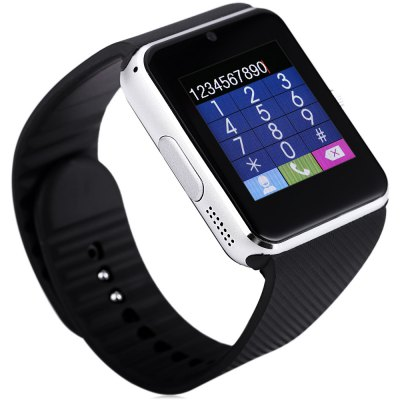 Aiwatch A8 Smartwatch PhoneSmart Watch Phone<br>Aiwatch A8 Smartwatch Phone<br><br>Brand: AiWatch<br>Type: Watch Phone<br>CPU: MTK6261<br>External Memory: TF card up to 32GB (not included)<br>Wireless Connectivity: Bluetooth<br>Network type: GSM<br>Frequency: GSM850/900/1800/1900MHz<br>Bluetooth: Yes<br>Bluetooth version: V3.0<br>Screen size: 1.54 inch<br>Camera type: Single camera<br>Front camera: 0.05MP<br>SIM Card Slot: Single SIM(Micro SIM slot)<br>TF card slot: Yes<br>Speaker: Supported<br>Languages: English, French, Spanish, Portuguese, Italian, German, Czech, Turkish, Russian, Hebrew<br>Cell Phone: 1<br>Battery: 1 x 380 mAh<br>USB Cable: 1<br>English Manual : 1<br>Product size: 4.90 x 4.30 x 1.30 cm / 1.93 x 1.69 x 0.51 inches<br>Package size: 11.00 x 11.00 x 8.80 cm / 4.33 x 4.33 x 3.46 inches<br>Product weight: 0.050 kg<br>Package weight: 0.218 kg