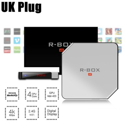 R - BOX 4K HD Android TV Smart Box 32Bit