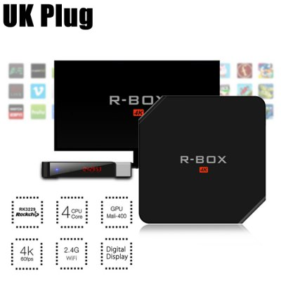 R - BOX 4K HD Smart Android Box TV 32Bit