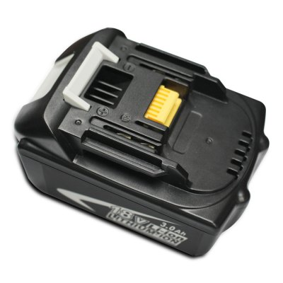 Makita BL1830 18V 3.0Ah Rechargeable Lithium-ion BatteryBatteries<br>Makita BL1830 18V 3.0Ah Rechargeable Lithium-ion Battery<br><br>Model: BL1830<br>Material: ABS Plastic<br>Color: Black<br>Special Functions : Battery Replacemnt<br>Certificate: CE<br>Product weight: 0.600 kg<br>Package weight: 0.715 kg<br>Product size (L x W x H): 12.00 x 7.50 x 6.50 cm / 4.72 x 2.95 x 2.56 inches<br>Package size (L x W x H): 13.00 x 9.00 x 8.00 cm / 5.12 x 3.54 x 3.15 inches<br>Package Contents: 1 x Makita BL1830 18V 3.0Ah Lithium Ion Battery, 1 x Manual in English / German
