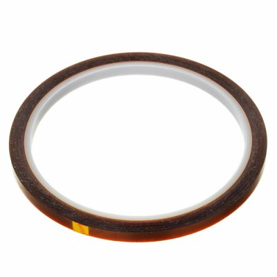Polyimide Tape 3mm 33m3D Printer Supplies<br>Polyimide Tape 3mm 33m<br><br>Material: Polyimide<br>Diameter: 3mm<br>Length: 33m<br>Color: Brown<br>Special features: Heat Resistant<br>Function: High-temperature Adhesive Tape<br>Product weight: 0.008 kg<br>Package weight: 0.024 kg<br>Product size: 9.50 x 9.50 x 0.30 cm / 3.74 x 3.74 x 0.12 inches<br>Package size: 18.00 x 11.90 x 1.30 cm / 7.09 x 4.69 x 0.51 inches<br>Package Contents: 1 x High-temperature Resistant Polyimide Tape
