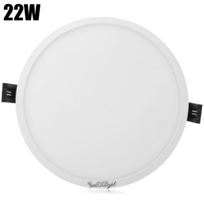 YouOKLight 22W 96 x SMD4014 1700Lm Round LED Panel Light 85 - 265V
