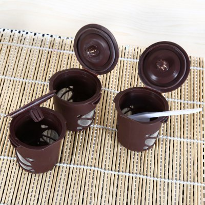 3PCS Reusable Single Coffee Filter Basket