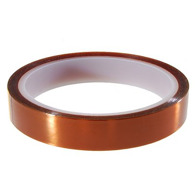 Polyimide Tape 15mm 33m3D Printer Supplies<br>Polyimide Tape 15mm 33m<br><br>Material: Polyimide<br>Diameter: 15mm<br>Length: 33m<br>Quantity: 1<br>Color: Brown<br>Special features: Heat Resistant<br>Function: High-temperature Adhesive Tape<br>Product weight: 0.042 kg<br>Package weight: 0.060 kg<br>Product size: 9.40 x 9.40 x 1.50 cm / 3.7 x 3.7 x 0.59 inches<br>Package size: 18.00 x 11.90 x 2.50 cm / 7.09 x 4.69 x 0.98 inches<br>Package Contents: 1 x High-temperature Resistant Polyimide Tape