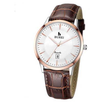 BUREI Imported Movement Casual Men Quartz Watch