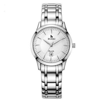 BUREI Imported Movement Casual Women Quartz WatchWomens Watches<br>BUREI Imported Movement Casual Women Quartz Watch<br><br>Available Color: Black,Rose Gold,Silver<br>Band material: Stainless Steel<br>Band size: 16.3 x 1.4 cm / 6.42 x 0.55 inches<br>Case material: Steel<br>Clasp type: Butterfly clasp<br>Dial size: 3 x 3 x 0.76 cm / 1.18 x 1.18 x 0.30 inches<br>Display type: Analog<br>Movement type: Quartz watch<br>Package Contents: 1 x BUREI Casual Women Quartz Watch<br>Package size (L x W x H): 28.00 x 8.00 x 3.50 cm / 11.02 x 3.15 x 1.38 inches<br>Package weight: 0.137 kg<br>Product size (L x W x H): 16.30 x 3.00 x 0.76 cm / 6.42 x 1.18 x 0.3 inches<br>Product weight: 0.077 kg<br>Shape of the dial: Round<br>Special features: Date, Luminous<br>Watch mirror: Sapphire<br>Watch style: Casual<br>Watches categories: Female table<br>Water resistance : 100 meters