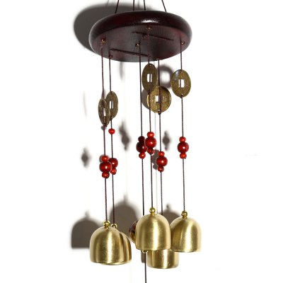 Golden Bells Wind ChimesCrafts<br>Golden Bells Wind Chimes<br><br>For: Teachers, Brothers, Friends, Lovers, Others, Parents, Sisters<br>Material: Iron, Wood<br>Package Contents: 1 x Wind Chime<br>Package size (L x W x H): 11.50 x 3.50 x 22.00 cm / 4.53 x 1.38 x 8.66 inches<br>Package weight: 0.170 kg<br>Product weight: 0.114 kg<br>Usage: Birthday, Others, Party, Wedding