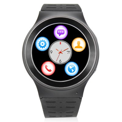 ZGPAX S99 3G Smartwatch PhoneSmart Watch Phone<br>ZGPAX S99 3G Smartwatch Phone<br><br>Brand: ZGPAX<br>Type: Watch Phone<br>OS: Android 5.1<br>CPU: MTK6580<br>Cores: 1.3GHz,Quad Core<br>GPU: Mali-400 MP<br>RAM: 512MB<br>ROM: 8GB<br>External Memory: Not Supported<br>Compatible OS: Android<br>Wireless Connectivity: 3G,Bluetooth 4.0,GPS,GSM,WiFi<br>WIFI: 802.11b/g/n wireless internet<br>Network type: GSM+WCDMA<br>Frequency: GSM 850/900/1800/1900MHz WCDMA 850/2100MHz<br>Support 3G : Yes<br>GPS: Yes<br>Bluetooth: Yes<br>Bluetooth version: V4.0<br>Screen type: Capacitive<br>Screen size: 1.33 inch<br>Screen resolution: 360 x 360<br>Camera type: Single camera<br>Front camera: 2.0MP<br>Video recording: Yes<br>SIM Card Slot: Single SIM<br>Speaker: Supported<br>Picture format: BMP,GIF,JPEG,PNG<br>Music format: AAC,AMR,MP3,OGG,WAV<br>Video format: 3GP,FLV,MP4,RMVB<br>Languages: Japanese, Simplified/Traditional Chinese, Indonesian, German, English, Spanish, French, Italian, Portuguese, Vietnamese, Turkish, Russian, Arabic,  Persian, Hindi, Bengli, Thai, Burmese, Korean<br>Additional Features: 2G,3G,Alarm,Bluetooth,Calendar,GPS,MP3,Notification,People,Sound Recorder,Waterproof,Wi-Fi<br>Functions: Heart rate measurement,Pedometer,Sedentary reminder<br>Cell Phone: 1<br>Battery: 450mAh Built-in<br>USB Cable: 1<br>English Manual : 1<br>Product size: 5.32 x 4.70 x 1.59 cm / 2.09 x 1.85 x 0.63 inches<br>Package size: 10.80 x 10.80 x 5.70 cm / 4.25 x 4.25 x 2.24 inches<br>Product weight: 0.065 kg<br>Package weight: 0.270 kg