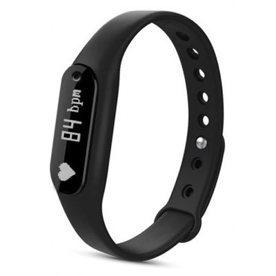 B6 Heart Rate Monitor Smart Wristband with Detachable Dial