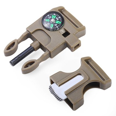 2pcs 4 in 1 Practical Wild Adventure Survival ToolFire Starter<br>2pcs 4 in 1 Practical Wild Adventure Survival Tool<br><br>For: Adventure, Camping, Climbing, Hiking<br>Material: ABS<br>Package Contents: 2 x Survival Tool<br>Package size (L x W x H): 7.00 x 8.00 x 2.00 cm / 2.76 x 3.15 x 0.79 inches<br>Package weight: 0.073 kg<br>Product size (L x W x H): 6.00 x 3.00 x 1.30 cm / 2.36 x 1.18 x 0.51 inches<br>Product weight: 0.033 kg