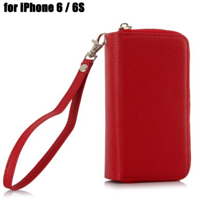PU Leather Pocket Protective Case for iPhone 6 / 6S