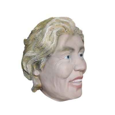 Realistic Famous Female President Style Latex Rubber MaskClassic Toys<br>Realistic Famous Female President Style Latex Rubber Mask<br><br>Features: Creative Toy<br>Materials: Rubber<br>Package Contents: 1 x Latex Rubber Mask<br>Package size: 41.00 x 31.00 x 2.00 cm / 16.14 x 12.2 x 0.79 inches<br>Package weight: 0.205 kg<br>Product weight: 0.200 kg<br>Series: Star Product<br>Theme: Other
