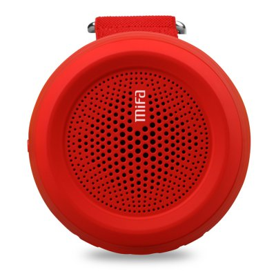 MIFA F20 Wireless Bluetooth 4.0 Speaker Music PlayerSpeakers<br>MIFA F20 Wireless Bluetooth 4.0 Speaker Music Player<br><br>Audio Source: Bluetooth Enabled Devices,SD card<br>Color: Blue,Gray,Red,Yellow<br>Compatible with: iPhone, Mobile phone<br>Connection: Wireless<br>Design: Sport<br>Model: F20<br>Package Contents: 1 x MIFA F4 Bluetooth Speaker, 1 x USB Cable, 1 x Hand Rope, 1 x English Manual<br>Package size (L x W x H): 11.00 x 11.00 x 9.00 cm / 4.33 x 4.33 x 3.54 inches<br>Package weight: 0.337 kg<br>Product size (L x W x H): 8.20 x 8.20 x 4.70 cm / 3.23 x 3.23 x 1.85 inches<br>Product weight: 0.119 kg<br>Supports: SD Card Music Playing, Bluetooth