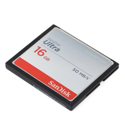 SanDisk CompactFlash Professional CF Extra Memory CardMemory Cards<br>SanDisk CompactFlash Professional CF Extra Memory Card<br><br>Brand: SanDisk<br>Memory Card Type: CF<br>Memory Capacity: 16G<br>Read Speed: 50MB/s<br>Product weight: 0.022 kg<br>Package weight: 0.045 kg<br>Product size (L x W x H): 4.30 x 3.50 x 0.30 cm / 1.69 x 1.38 x 0.12 inches<br>Package size (L x W x H): 16.00 x 11.50 x 2.00 cm / 6.3 x 4.53 x 0.79 inches<br>Package Contents: 1 x Extra Memory Card
