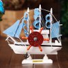 Music Box Boat Style Eight Tone Wood Kid Present / Educational Toy