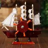 cheap Music Box Boat Style Eight Tone Wood Kid Present / Educational Toy