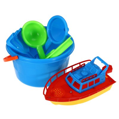 6pcs / Set Sand Beach Tool Kid Bucket Outdoor Toy for Child