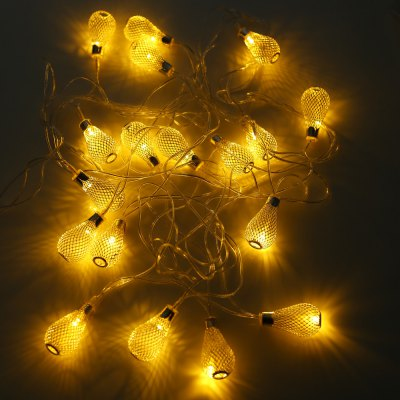 BRELONG Wire Lantern LED String Light