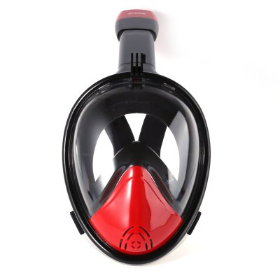 SMACO Full Face Snorkel Mask for Action Camera M Size