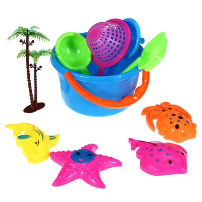 10pcs Children Outdoor Toy Sand Beach Tool