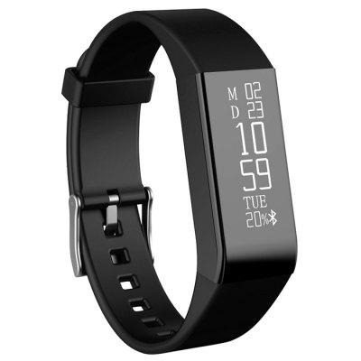 Vidonn A6 Dynamic Real-time Heart Rate Track Smart WristbandSmart Watches<br>Vidonn A6 Dynamic Real-time Heart Rate Track Smart Wristband<br><br>Alert type: Vibration<br>Anti-lost: Yes<br>Available Color: Black,Red<br>Band material: TPU<br>Band size: 22 x 1.6 cm / 8.67 x 0.63 inches<br>Battery  Capacity: 45mAh<br>Bluetooth calling: Caller ID dispay<br>Bluetooth Version: Bluetooth 4.0<br>Case material: ABS<br>Charging Time: About 3hours<br>Compatability: Android 4.3 / iOS 8.0 and Above System<br>Compatible OS: IOS, Android<br>Dial size: 6 x 1.6 x 0.95 cm / 2.36 x 0.63 x 0.37 inches<br>Health tracker: Heart rate monitor,Pedometer,Sleep monitor<br>IP rating: IP65<br>Language: English,Simplified Chinese<br>Notification: Yes<br>Notification type: WhatsApp, Wechat, Facebook, Twitter<br>Operating mode: Touch Screen<br>Other Function: WiFi, Alarm<br>Package Contents: 1 x Vidonn A6 Smart Wristband, 1 x Chinese English User Manual, 1 x Charging Cable<br>Package size (L x W x H): 13.00 x 9.30 x 3.30 cm / 5.12 x 3.66 x 1.3 inches<br>Package weight: 0.176 kg<br>People: Female table,Male table<br>Product size (L x W x H): 22.00 x 1.60 x 0.95 cm / 8.66 x 0.63 x 0.37 inches<br>Product weight: 0.020 kg<br>Screen: OLED<br>Shape of the dial: Rectangle<br>Standby time: About 15 Days<br>Type of battery: Li-polymer Battery<br>Waterproof: Yes