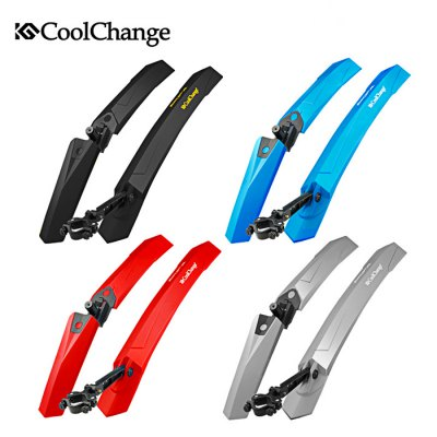 Coolchange 25003 Bicycle MudguardBike Parts<br>Coolchange 25003 Bicycle Mudguard<br><br>Brand: CoolChange<br>Color: Black,Blue,Red,Silver<br>Material: Rubber<br>Package Contents: 1 x Coolchange 25003 Front Mudguard, 1 x Coolchange 25003 Rear Mudguard<br>Package size (L x W x H): 60.00 x 10.00 x 8.00 cm / 23.62 x 3.94 x 3.15 inches<br>Package weight: 0.530 kg<br>Product weight: 0.330 kg<br>Type: mudguard
