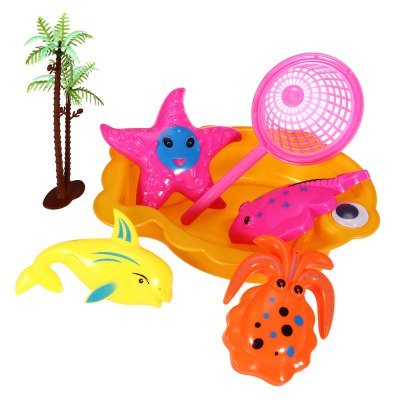 7pcs / Set Sand Beach Tool Kid Bucket Outdoor Toy for Child