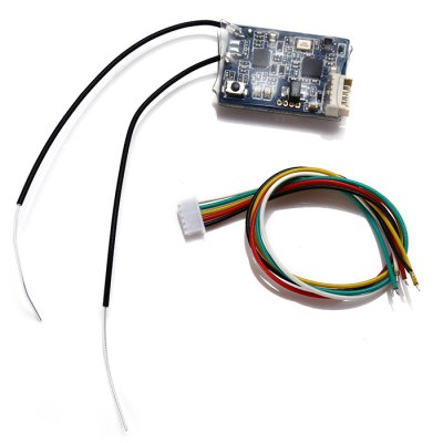 FrSky XSR 2.4GHz 16CH ACCST Receiver Fitting for RC DroneRadios &amp; Receiver<br>FrSky XSR 2.4GHz 16CH ACCST Receiver Fitting for RC Drone<br><br>Brand: FrSky<br>Type: Receiver<br>Protocol: Flysky<br>Product weight: 0.030 kg<br>Package weight: 0.041 kg<br>Product size (L x W x H): 2.60 x 1.92 x 0.50 cm / 1.02 x 0.76 x 0.2 inches<br>Package size (L x W x H): 10.00 x 9.00 x 17.00 cm / 3.94 x 3.54 x 6.69 inches<br>Package Contents: 1 x FrSky Receiver, 1 x Connecting Cable, 1 x English User Manual