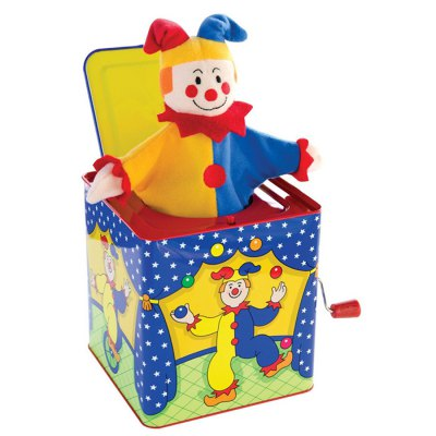 Adorable Clown Style Music Box