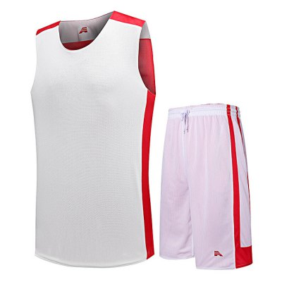 Men Quick-drying Sleeveless Basketball Suit for Exercising
