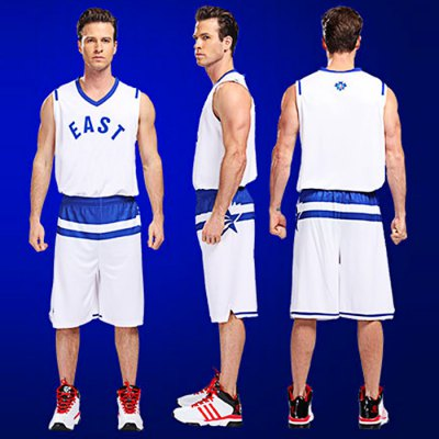 Men Breathable Sleeveless Basketball Suit for ExercisingWeight Lifting Clothes<br>Men Breathable Sleeveless Basketball Suit for Exercising<br><br>Color: Red,White<br>Features: Breathable, Quick Dry<br>Gender: Men<br>Material: Polyester<br>Package Content: 1 x Sleeveless Tops, 1 x Short Pants<br>Package size: 40.00 x 30.00 x 9.00 cm / 15.75 x 11.81 x 3.54 inches<br>Package weight: 0.480 kg<br>Product weight: 0.400 kg