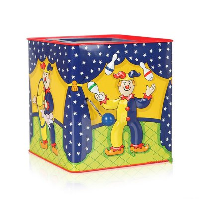 Adorable Clown Style Music Box for Children Birthday GiftClassic Toys<br>Adorable Clown Style Music Box for Children Birthday Gift<br><br>Features: Creative Toy, manual<br>Materials: Metal, Plush<br>Package Contents: 1 x Music Box<br>Package size: 14.50 x 14.00 x 14.50 cm / 5.71 x 5.51 x 5.71 inches<br>Package weight: 0.350 kg<br>Product size: 13.00 x 13.00 x 14.00 cm / 5.12 x 5.12 x 5.51 inches<br>Product weight: 0.330 kg<br>Series: Entertainment<br>Theme: Music