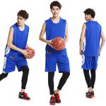 Men Breathable Sleeveless Basketball Suit for Exercising deal