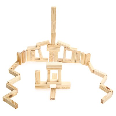 Pile Stacked High Brick Game Toy for Spatial ImaginationClassic Toys<br>Pile Stacked High Brick Game Toy for Spatial Imagination<br><br>Type: Building Blocks<br>Age: 3 Years+<br>Material: Wood<br>Design Style: Geometric Shape<br>Features: Educational<br>Puzzle Style: 3D Puzzle<br>Small Parts : Yes<br>Washing: No<br>Applicable gender: Unisex<br>Product weight: 0.020 kg<br>Package weight: 0.250 kg<br>Product size (L x W x H): 5.00 x 5.00 x 15.00 cm / 1.97 x 1.97 x 5.91 inches<br>Package size (L x W x H): 5.50 x 5.50 x 15.50 cm / 2.17 x 2.17 x 6.1 inches<br>Package Contents: 48 x Module