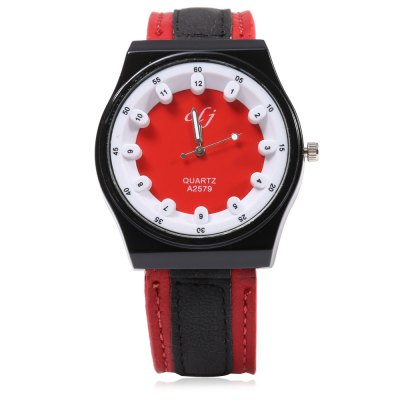 OLJ A2579 Casual Women Quartz Watch with Stereo Dial