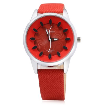 DALAS 6908 Casual Women Quartz WatchWomens Watches<br>DALAS 6908 Casual Women Quartz Watch<br><br>Available Color: Black,Blue,Coffee,Orange,Pink,Red,Rose,White<br>Band material: Leather<br>Band size: 24 x 1.8 cm / 9.45 x 0.71 inches<br>Brand: Dalas<br>Case material: Stainless Steel<br>Clasp type: Pin buckle<br>Dial size: 4.1 x 4.1 x 1.2 cm / 1.61 x 1.61 x 0.47 inches<br>Display type: Analog<br>Movement type: Quartz watch<br>Package Contents: 1 x DALAS 6908 Casual Women Quartz Watch<br>Package size (L x W x H): 25.00 x 5.10 x 2.20 cm / 9.84 x 2.01 x 0.87 inches<br>Package weight: 0.073 kg<br>Product size (L x W x H): 24.00 x 4.10 x 1.20 cm / 9.45 x 1.61 x 0.47 inches<br>Product weight: 0.033 kg<br>Shape of the dial: Round<br>Watch style: Casual<br>Watches categories: Female table<br>Wearable length: 18 - 22 cm / 7.09 - 8.67 inches