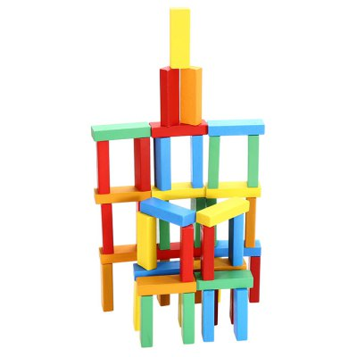 Brick Game Building Block Toy for Spatial Imagination