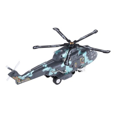 New Style NO.3322 Electric Colorful Flashing Helicopter with Sound of High Quality