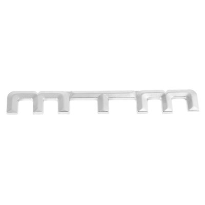 WY - 013 MTM Letter Metal 3D Car Sticker