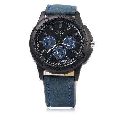 OLJ A2609 Casual Decorative Sub-dial Men Quartz WatchMens Watches<br>OLJ A2609 Casual Decorative Sub-dial Men Quartz Watch<br><br>Brand: OLJ<br>Watches categories: Male table<br>Watch style: Casual<br>Available color: Black,Blue,Coffee,Red<br>Movement type: Quartz watch<br>Shape of the dial: Round<br>Display type: Analog<br>Case material: Stainless Steel<br>Band material: Leather<br>Clasp type: Pin buckle<br>Special features: Decorative sub-dial<br>Dial size: 4.8 x 4.8 x 1.3 cm / 1.89 x 1.89 x 0.51 inches<br>Band size: 25.6 x 2.2 cm / 10.08 x 0.87 inches<br>Wearable length: 19.5 - 23.2 cm / 7.68 - 9.13 inches<br>Product weight: 0.048 kg<br>Package weight: 0.083 kg<br>Product size (L x W x H): 25.60 x 4.80 x 1.30 cm / 10.08 x 1.89 x 0.51 inches<br>Package size (L x W x H): 26.60 x 5.80 x 2.30 cm / 10.47 x 2.28 x 0.91 inches<br>Package Contents: 1 x OLJ A2609 Casual Men Quartz Watch