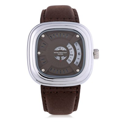 T5 H3453G Casual Hollow-out Seconds Dial 3ATM Men Quartz WatchMens Watches<br>T5 H3453G Casual Hollow-out Seconds Dial 3ATM Men Quartz Watch<br><br>Available Color: Gold,Red,Silver,Yellow<br>Band material: Genuine Leather<br>Band size: 25.7 x 2.8 cm / 10.12 x 1.10 inches<br>Case material: Stainless Steel<br>Clasp type: Pin buckle<br>Dial size: 5 x 5 x 1.2 cm / 1.97 x 1.97 x 0.47 inches<br>Display type: Analog<br>Movement type: Quartz watch<br>Package Contents: 1 x T5 H3453G Casual Men Quartz Watch, 1 x Chinese English User Manual<br>Package size (L x W x H): 26.70 x 6.00 x 2.20 cm / 10.51 x 2.36 x 0.87 inches<br>Package weight: 0.133 kg<br>Product size (L x W x H): 25.70 x 5.00 x 1.20 cm / 10.12 x 1.97 x 0.47 inches<br>Product weight: 0.096 kg<br>Shape of the dial: Square<br>Watch style: Casual<br>Watches categories: Male table<br>Water resistance : 30 meters<br>Wearable length: 18.5 - 23.5 cm / 7.28 - 9.25 inches