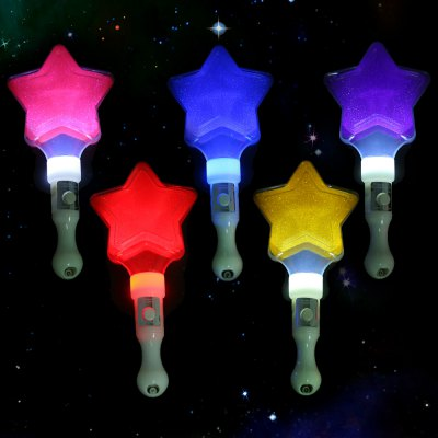 5pcs BRELONG Star LED Stick for Vocal Concert Match