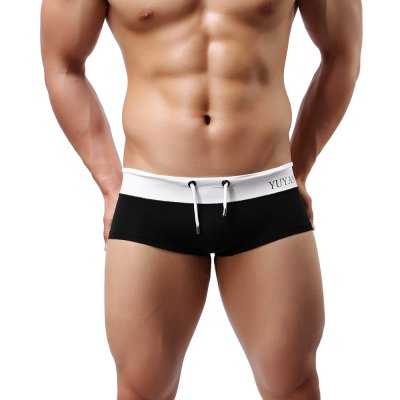 YUYANG Men Swimming Boxer Shorts