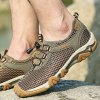 best Male Breathable Upstream Shoes with Breathable Mesh Upper