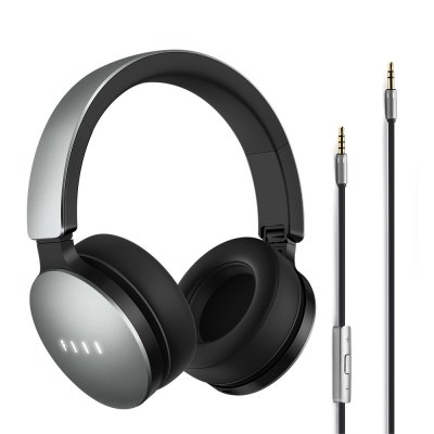 FIIL Music Wired Headphones Active Noise Canceling with Mic Foldable Design