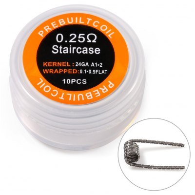 Kanthal A1 Staircase Coil Готовые спирали