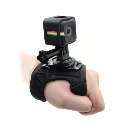 TELESIN Hand Band with Protective Frame Cage for Polaroid Cube / Cube+