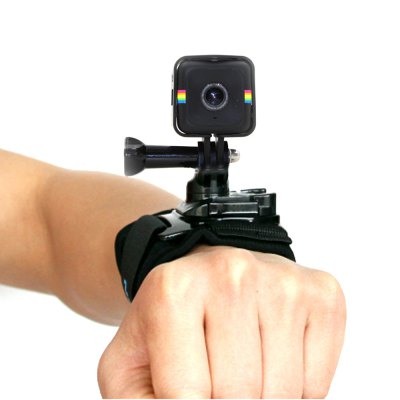 TELESIN Wristband with Protective Frame Cage for Polaroid Cube / Cube+