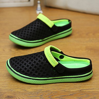 927 Men Air-mesh SlippersShoes<br>927 Men Air-mesh Slippers<br><br>Model Number: 927<br>Gender: Men<br>Size: 38,39,40,41,42,43,44<br>Product weight: 0.240 kg<br>Package weight: 0.690 kg<br>Package size: 27.00 x 13.00 x 12.00 cm / 10.63 x 5.12 x 4.72 inches<br>Package Content: 1 x Pair of 927 Men Air-mesh Slippers